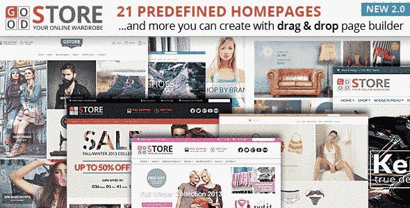 قالب 21 صفحه ای مولتی فروشگاه WooCommerce وردپرس