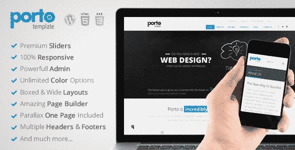قالب طراحی سایت فوق حرفه ای ریسپانسیو وردپرس