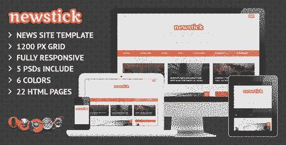 قالب سایت خبری کد نویسی استاندارد سرعت لود بالا html