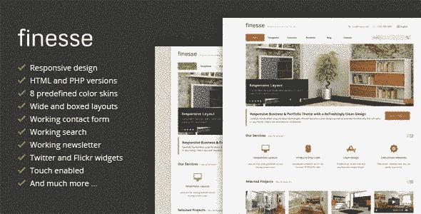 قالب شرکتی طراحی معماری امکانات حرفه ای html