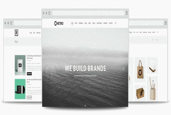 قالب حرفه ای سایت برند سازی ریسپانسیو جوملا