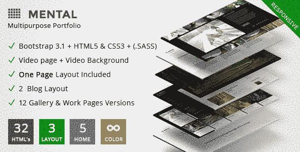 قالب سایت عکاسی همراه گالری حرفه ای html