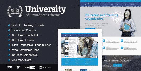 قالب سایت دانشگاه 5 استایل متفاوت همراه انجمن وردپرس bbpress