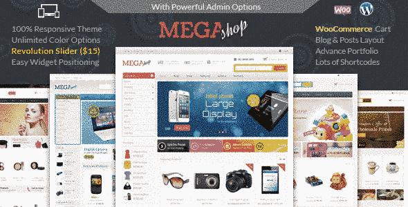 قالب فروشگاه 4 استایل متفاوت ریسپانسیو اسلایدر WooCommerce وردپرس
