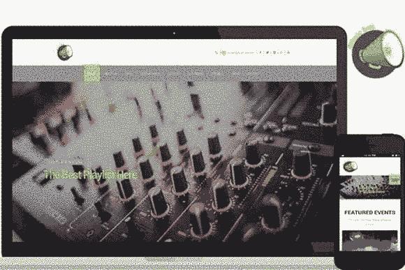 قالب سایت استودیو آهنگ سازی ترانه با امکانات فراوان html
