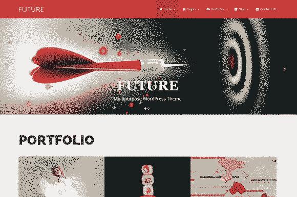 قالب چند منظوره تجاری آینده همراه اسلایدر ریسپانسیو وردپرس