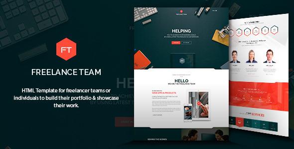 قالب طراحی سایت آزاد HTML