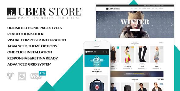 قالب فروشگاهی eCommerce-UberStore