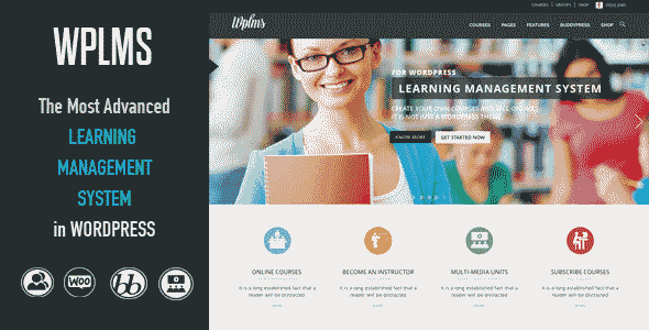 قالب سایت شرکت آموزشی وردپرس