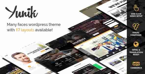 قالب شرکتی تجاری وردپرس RTL یانیک