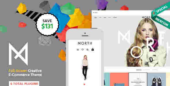 قالب سایت برند محصول همراه فروشگاه RTL شمال وردپرس
