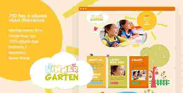 قالب گرافیکی زیبا وبلاگ نویسی کودکان html