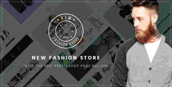 قالب فروشگاه کفش لباس پرستاشاپ RTL نیو فشن