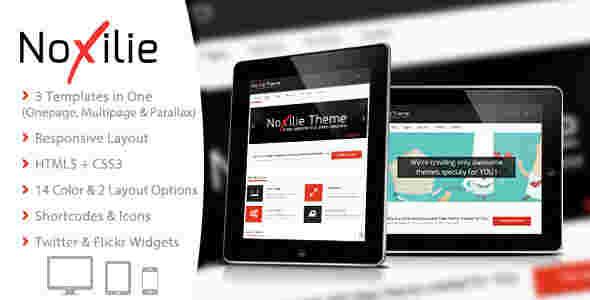 قالب تجاری وبلاگ نویسی نوکسیلی html