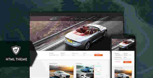 قالب سایت فروشگاه بنگاه خرید فروش ماشین خودرو اتو تریدر html