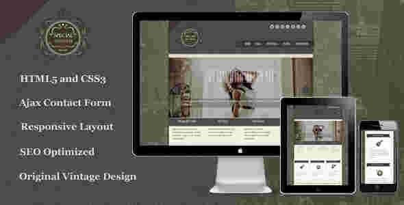 قالب حرفه ای گرافیکی وبلاگ نویسی مخصوص html