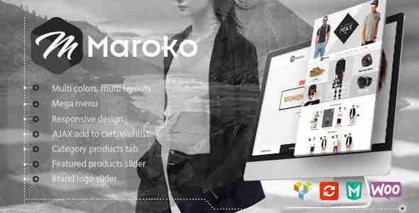 قالب فروشگاهی وردپرس RTL ماروکو