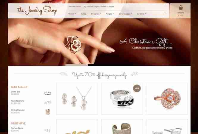 قالب فروشگاه جواهرات وردپرس جورلی