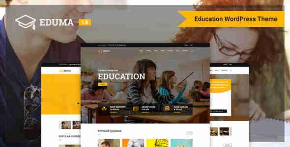 قالب حرفه ای سایت دانشگاه وردپرس RTL آموزش