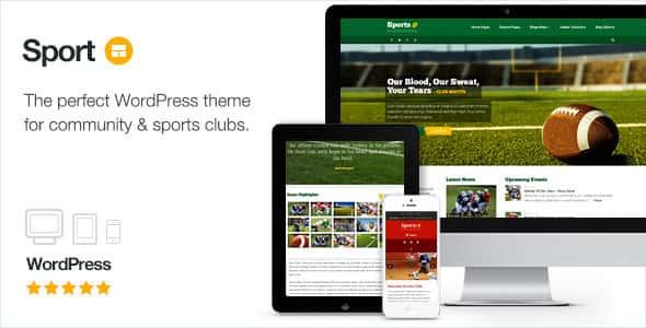 قالب سایت خبری ورزشی وردپرس اسپورت