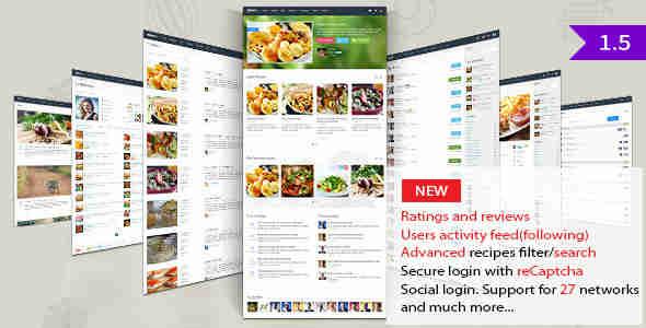 قالب مجله آشپزی وردپرس گاستوس