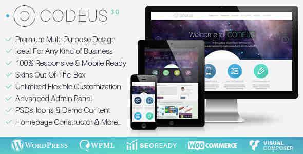 قالب سایت شرکت فروشگاهی وردپرس کدیوس