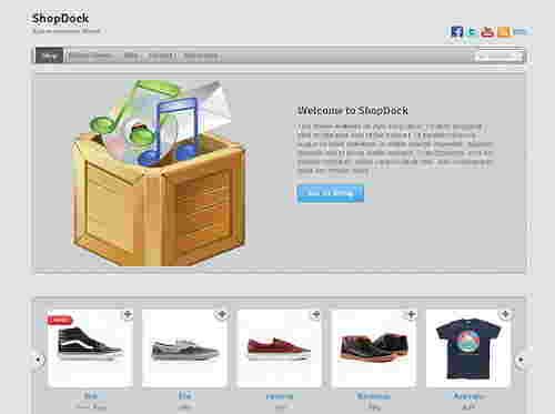 قالب سایت فروشگاهی وردپرس شاپ داک