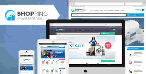 قالب سایت فروشگاهی ووکامرسی شاپینگ وردپرس