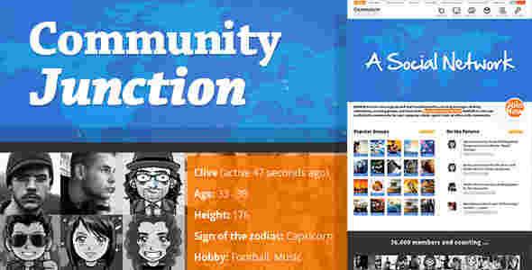 قالب شبکه اجتماعی BuddyPress انجمن وردپرس