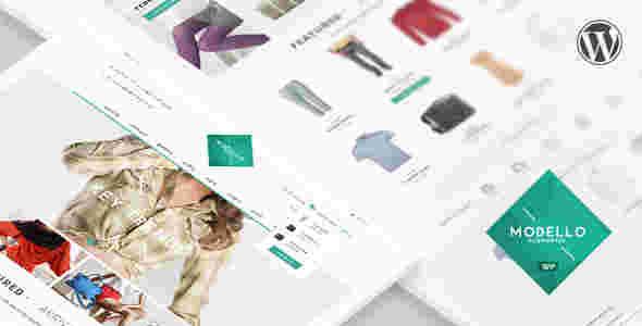 قالب فروشگاهی لباس کفش ساعت مدلو ووکامرسی وردپرس