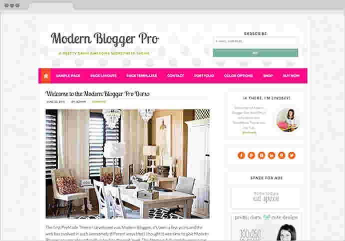 قالب حرفه ای سئو وبلاگ نویسی مدرن پرو وردپرس