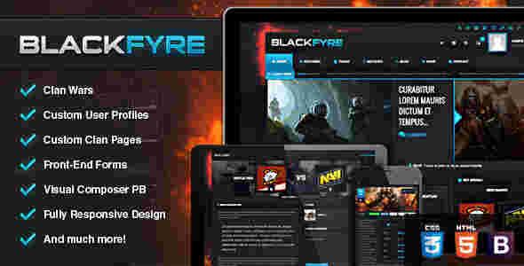 قالب مجله وبلاگ نویسی بازی همراه bbpress وردپرس
