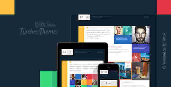 قالب وبلاگ شخصی تجاری دوازه طراح ویندوز 8 وردپرس