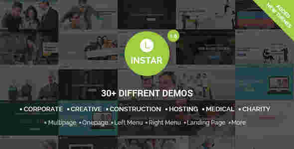 30 قالب شرکتی حرفه ای لاین استار html
