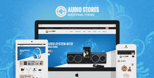 قالب شرکتی فروشگاه لوازم صوتی تصویری ریسپانسیو مگناتو