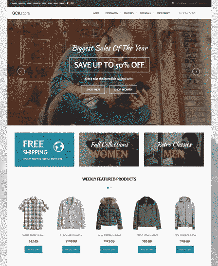 قالب سایت فروشگاهی همراه اسلایدر ریسپانسیو جوملا