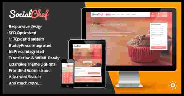 قالب حرفه ای سایت آشپزی بادی & بی بی پرس RTL وردپرس
