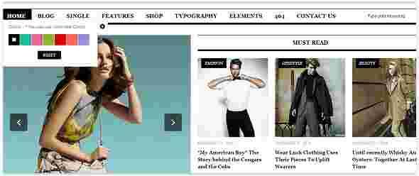 قالب مجله وبلاگ نویسی یور پرس html