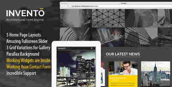قالب مولتی سایت معماری وردپرس اینونتو