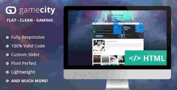 قالب وبلاگ نویسی بازی گیم html