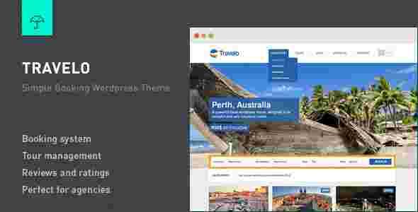 قالب سایت آژانس مسافرتی تراولتو وردپرس