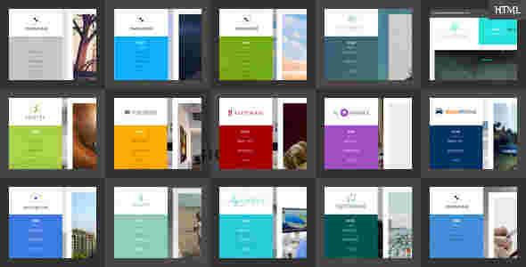 قالب وبلاگ نویسی تجاری 10 استایل مومنتال html