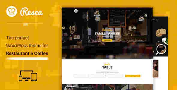 قالب سایت رستوران غذاخوری RTL وردپرس