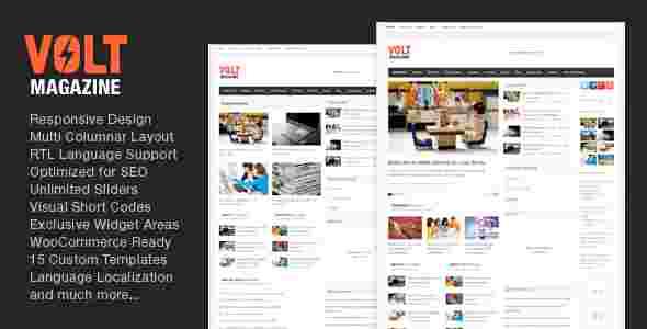 قالب وردپرس سایت مجله خبری ولت RTL