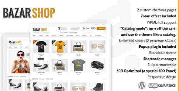 قالب مولتی فروشگاهی بازار شاپ WooCommerce وردپرس