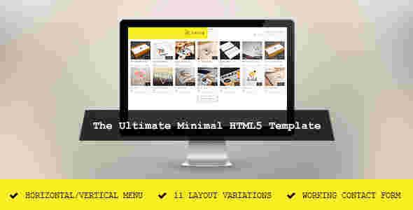 قالب وبلاگ نویسی لابوک شرکتی طراحی لوگو برند html