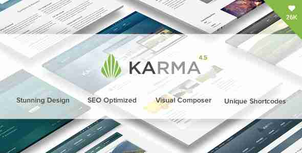 قالب حرفه ای شرکتی کارما ریسپانسیو html