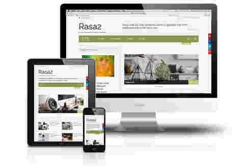 قالب تجاری وبلاگ نویسی راسا جوملا 3