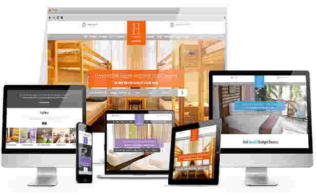 قالب سایت حرفه ای هتل چند ستاره جوملا 2.5 تا 3