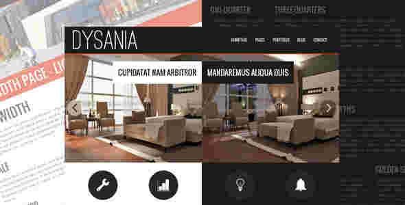 قالب وبلاگ نویسی طراحی معماری داخلی دساینا html